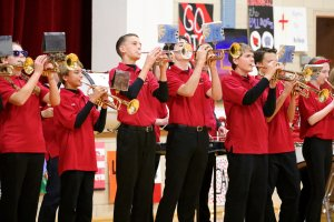 Band at pepfest